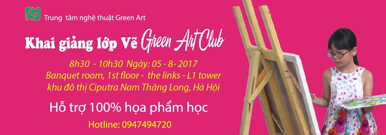 Khai giảng Green Club tại KĐT Ciputra Nam Thăng Long